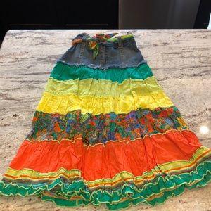 Children's place girls jean skirt size 6